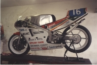 Another of John Davies' Manx Grand Prix Bikes, A mid 80's RS250