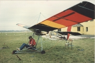 One of John's other interests, before it got too dangerous, Micro-Light, 1982