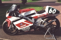The British 250cc Championship Winning Mackenzie Yamaha, 2000. Ridden by Callum Ramsay, Prepared by Colin Davies