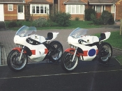 A 1978 TZ350E & a 1979 TZ750, Restored by Colin Davies